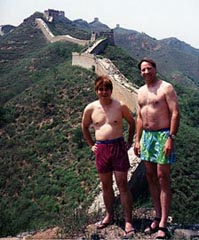 Ko & Will at the Great Wall